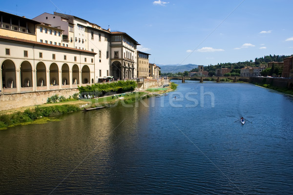 Arno river Stock photo © sailorr