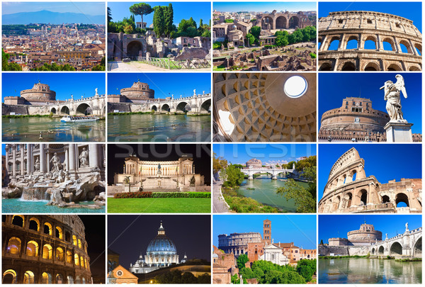 Stock photo: Rome collection
