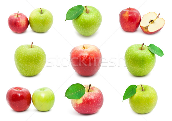 Apples Stock photo © sailorr
