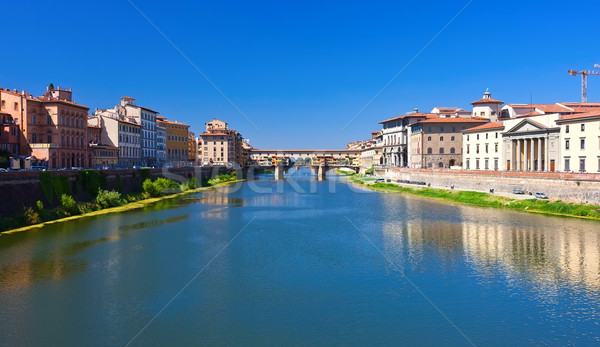 Arno river in Florence Stock photo © sailorr