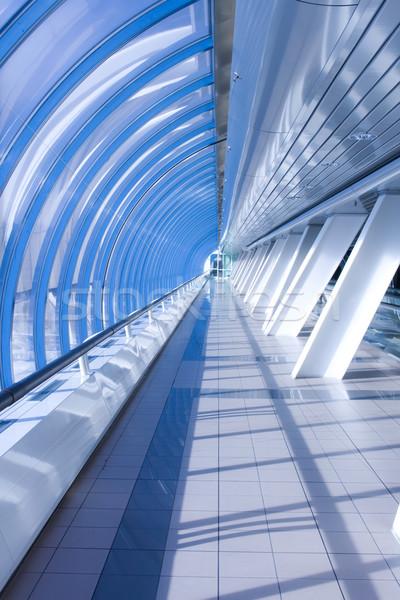Iroda híd végtelen átjáró üzlet épület Stock fotó © sailorr