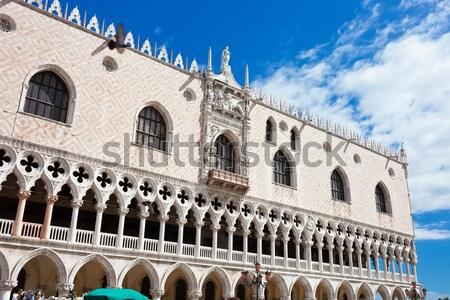 Palazzo Venezia bella view piazza Italia Foto d'archivio © sailorr