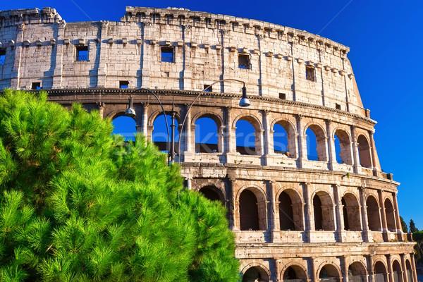 Колизей Рим красивой мнение известный древних Сток-фото © sailorr