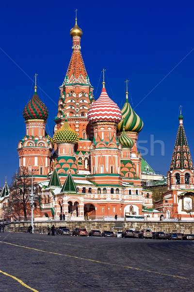 St Basil's Cathedral Stock photo © sailorr