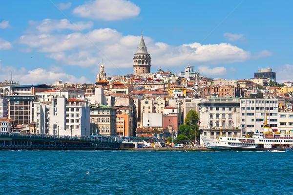 Distrito Estambul dorado cuerno puerto Turquía Foto stock © sailorr