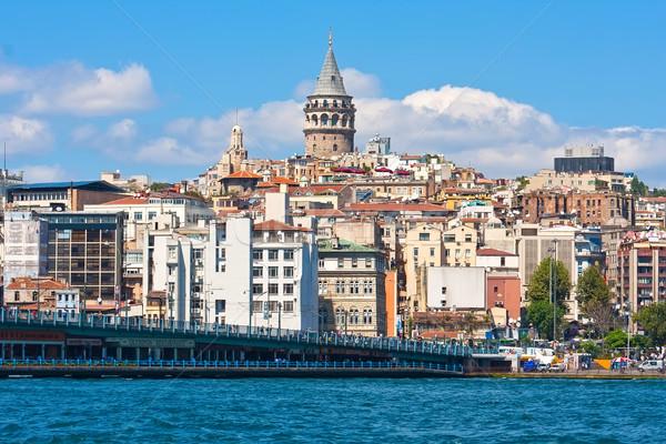 Bölge İstanbul altın boynuz liman Türkiye Stok fotoğraf © sailorr