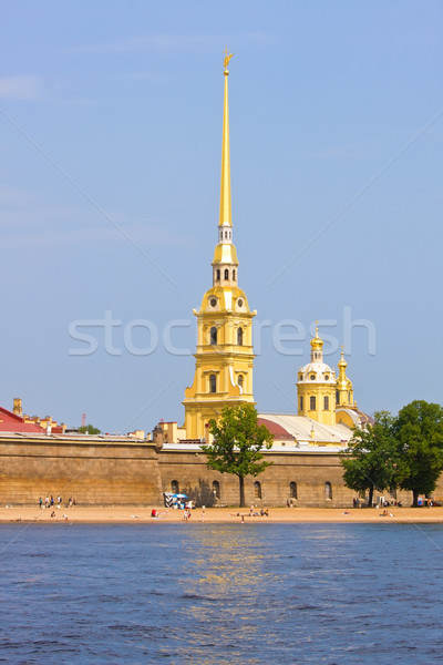 Peter and Paul fortress Stock photo © sailorr