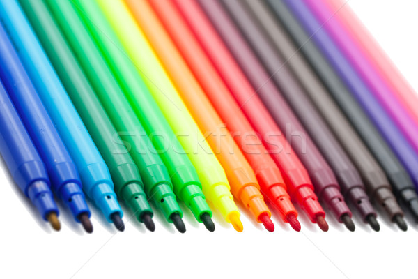 Color markers Stock photo © sailorr