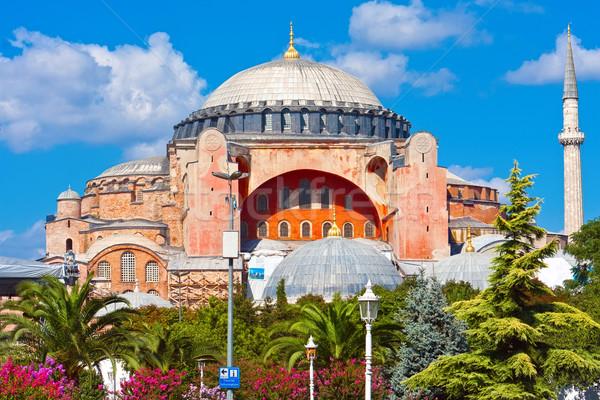Bella view Istanbul Turchia blu architettura Foto d'archivio © sailorr