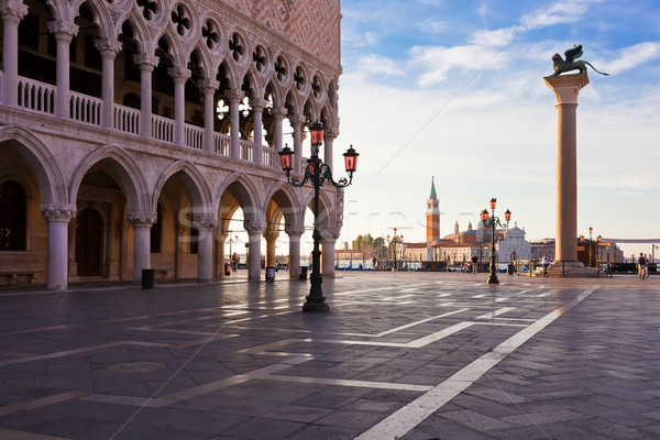 Doge Palace in Venice Stock photo © sailorr