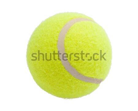Tennisbal mooie geïsoleerd witte sport achtergrond Stockfoto © sailorr