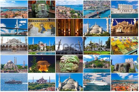 Hagia Sophia in Istanbul Stock photo © sailorr