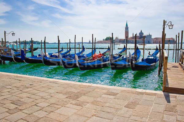 gondolas Stock photo © sailorr