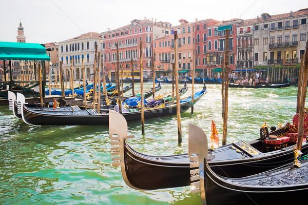 Venetian Gondolas Stock photo © sailorr