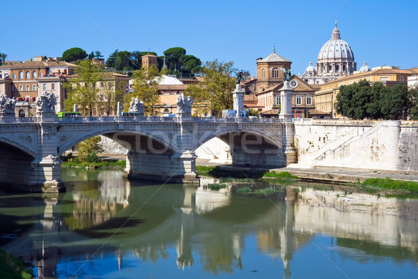 Ponte Vittorio Emanuele II  Stock photo © sailorr