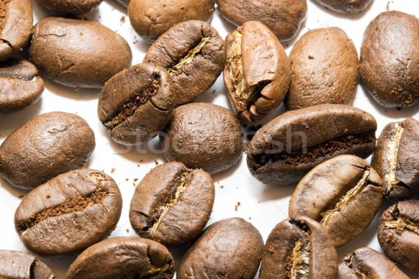 Chicchi di caffè naturale alto qualità macro primo piano Foto d'archivio © sailorr