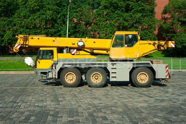 Automobile crane Stock photo © sailorr