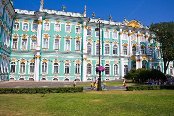Museo invierno palacio ruso arte Foto stock © sailorr