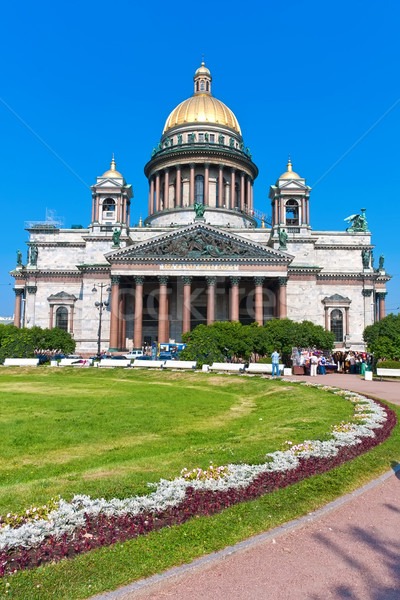 святой собора небе город путешествия поклонения Сток-фото © sailorr