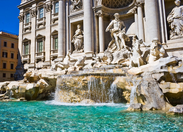 Trevi Fountain Stock photo © sailorr