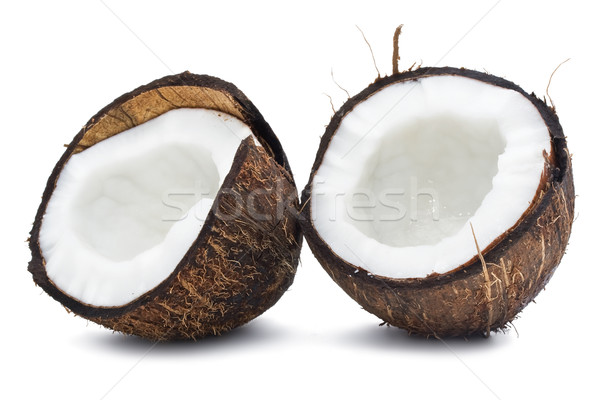 Cocco perfetto fresche isolato bianco alimentare Foto d'archivio © sailorr