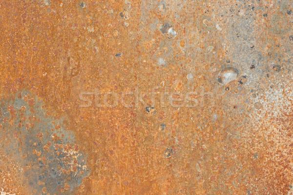 Pas doku grunge demir eski çelik Stok fotoğraf © sailorr