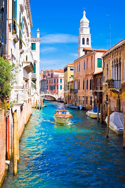 Venice canal Stock photo © sailorr