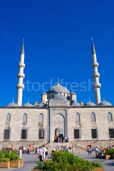 モスク 新しい イスタンブール トルコ 建物 礼拝 ストックフォト © sailorr