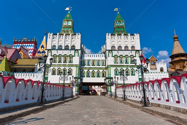 Kremlin in Izmailovo Stock photo © sailorr