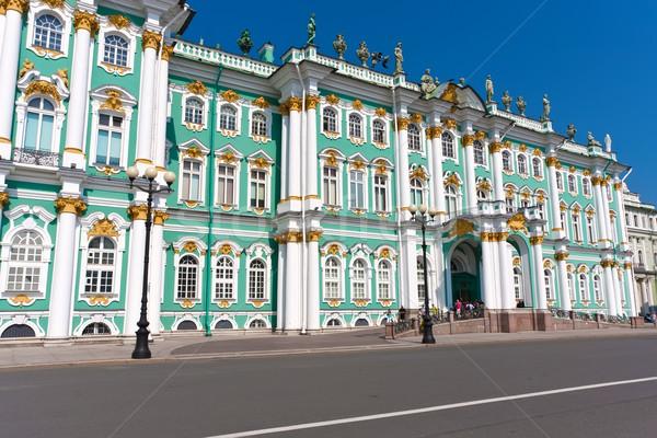 Сток-фото: святой · музее · зима · дворец · русский · небе