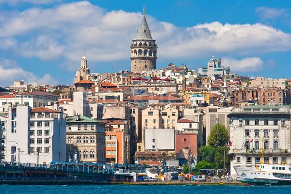Bölge altın boynuz liman İstanbul Türkiye Stok fotoğraf © sailorr