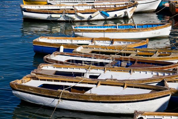 Foto stock: Nápoles · barcos · belo · marina · Itália · água