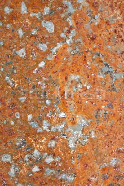 Roest textuur grunge ijzer oude staal Stockfoto © sailorr