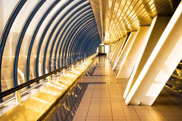 Stock photo: Office bridge