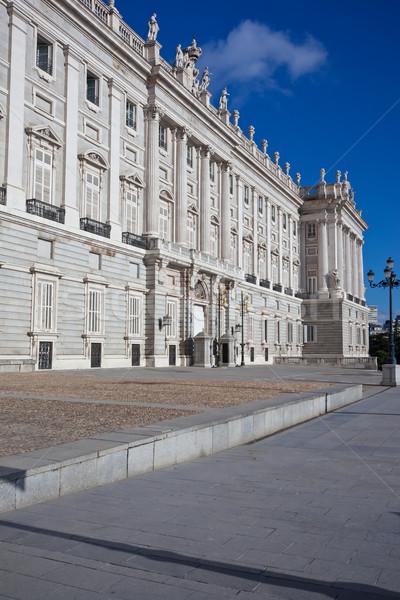 королевский дворец Мадрид красивой мнение известный Сток-фото © sailorr