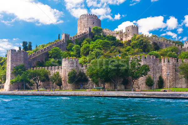 Rumeli Fortress Stock photo © sailorr
