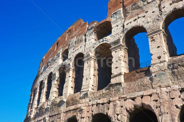 Coliseu Roma belo ver famoso antigo Foto stock © sailorr