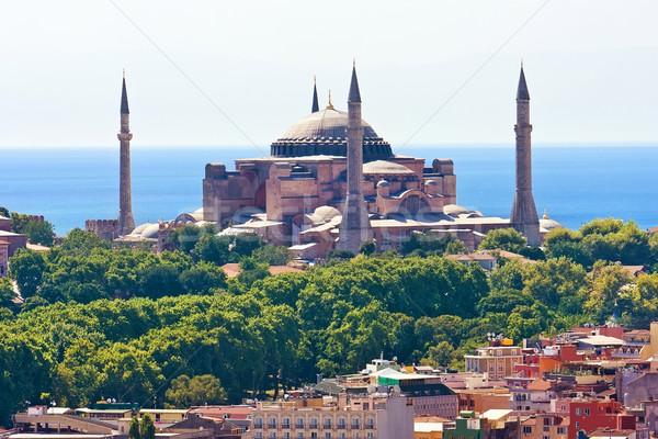 мнение башни Стамбуле Турция небе воды Сток-фото © sailorr