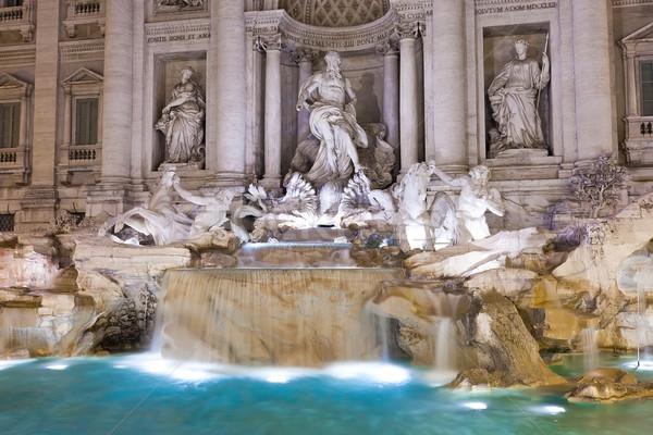 Fountain di Trevi Stock photo © sailorr