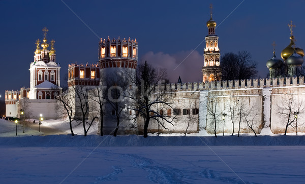 Stock photo: Moscow in winter