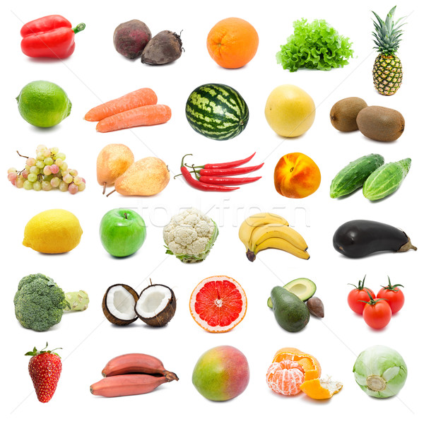 Fruits and vegetables Stock photo © sailorr