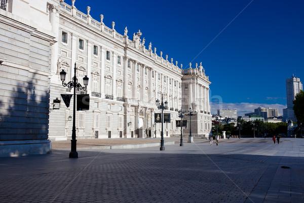 ロイヤル 宮殿 マドリード 美しい 表示 有名な ストックフォト © sailorr