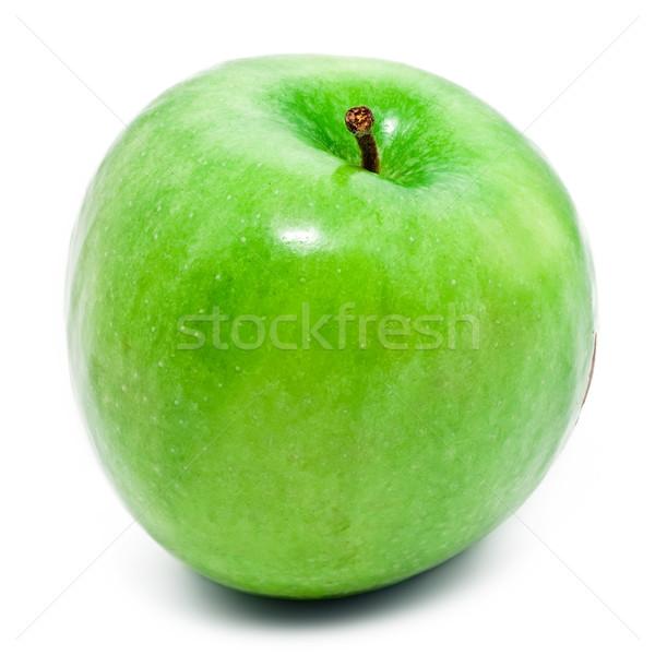 Verde manzana aislado blanco frutas salud Foto stock © sailorr