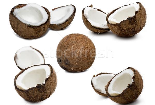 Coconuts  Stock photo © sailorr