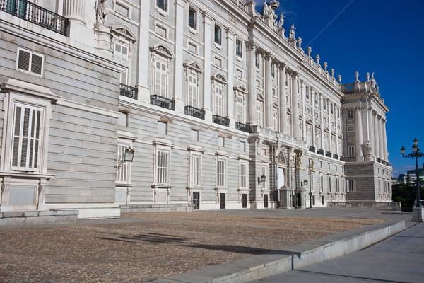 Royal Palace in Madrid Stock photo © sailorr