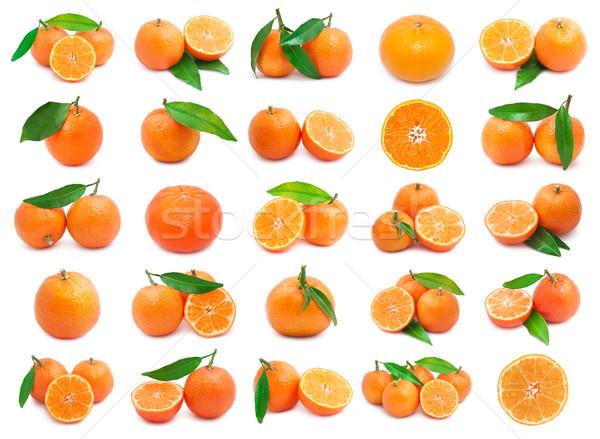 Mandarins Stock photo © sailorr