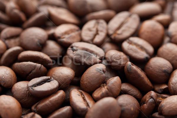 кофе коричневый текстуры кафе черный Сток-фото © sailorr