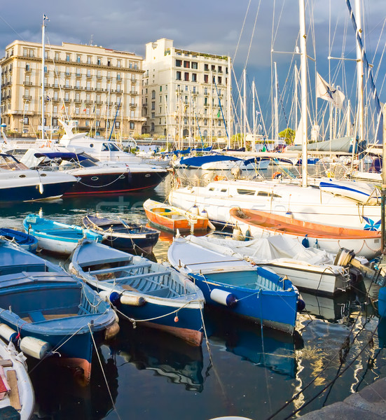 Yachts in Naples Stock photo © sailorr