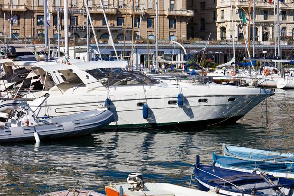 Foto stock: Nápoles · ver · belo · marina · Itália · água