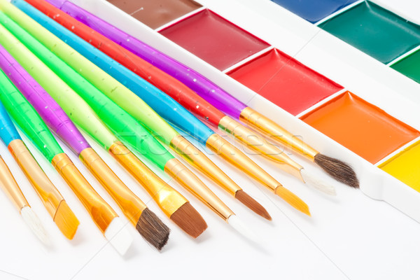 Paintbrush Stock photo © sailorr